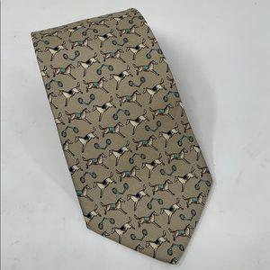 NWT Brooks Brothers Silk Equestrian Tie